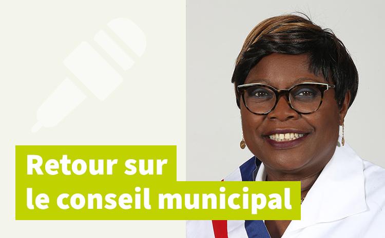 Conseil municipal du 22 mars – Intervention de Thérèse Ngimbous Batjôm
