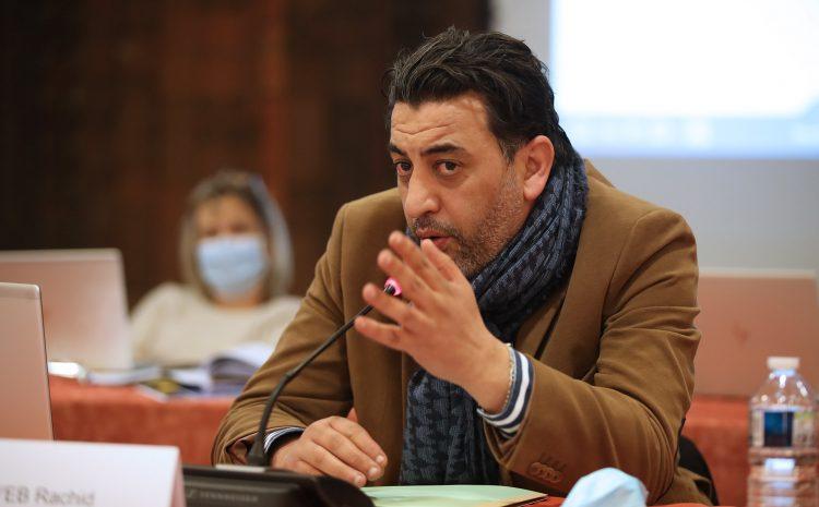 Les vidéos du conseil municipal du 22 mars : Rachid Tayeb