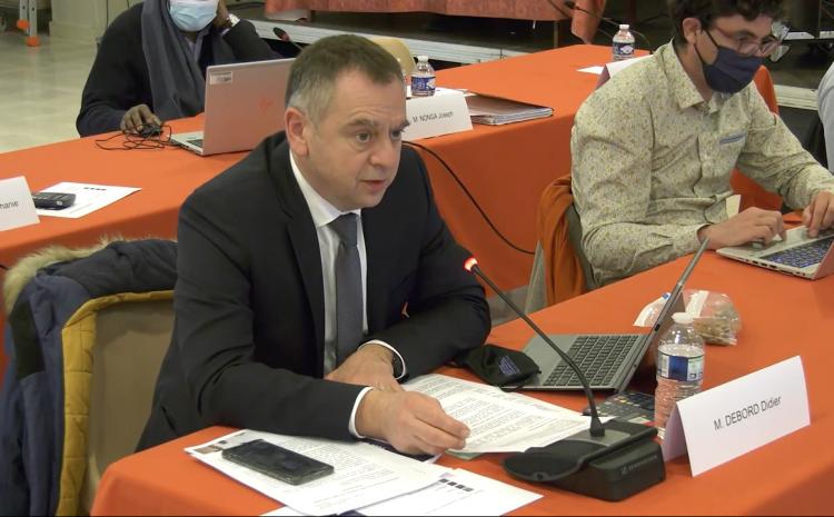 Les vidéos du conseil municipal du 22 mars : Didier Debord