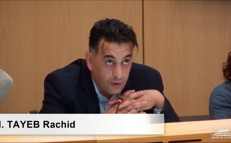 Les vidéos du conseil municipal du 5 juillet : Rachid Tayeb