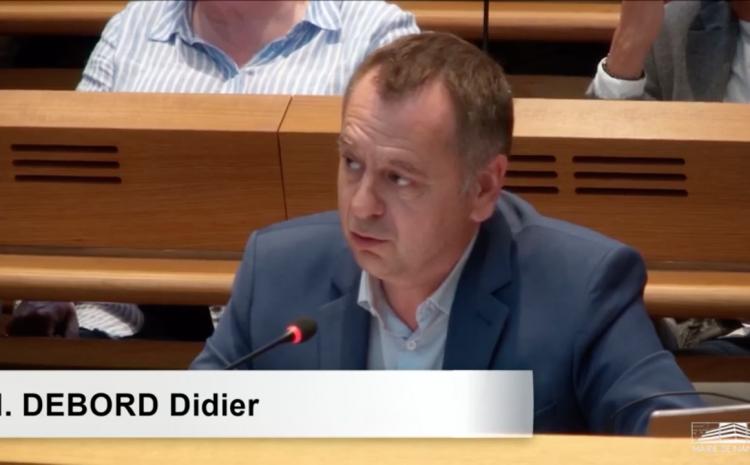 Les vidéos du conseil municipal du 5 juillet : Didier Debord, sur le compte administratif de la ville