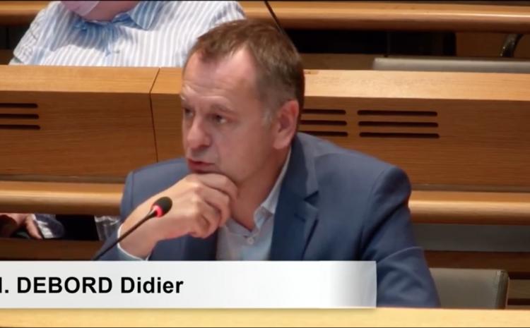 Les vidéos du conseil municipal du 5 juillet : Didier Debord sur l'évolution du temps de travail du personnel communal et du régime indemnitaire