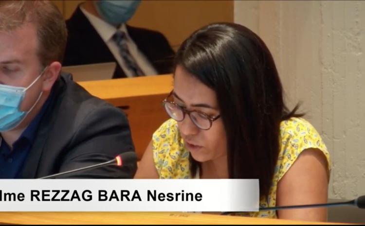 Les vidéos du conseil municipal du 5 juillet : Nesrine Rezzag-Bara