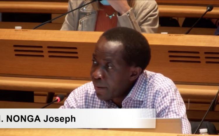 Les vidéos du conseil municipal du 5 juillet : Joseph Nonga